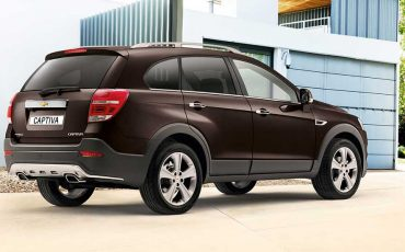 Chevrolet Captiva 7 seater SUV